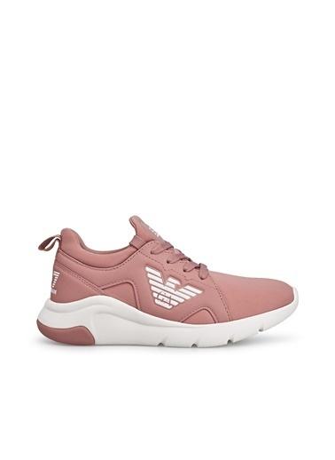 Emporio Armani  Sneaker Ayakkabı Kadın Ayakkabı S X8X056 Xk168 N079 Pembe